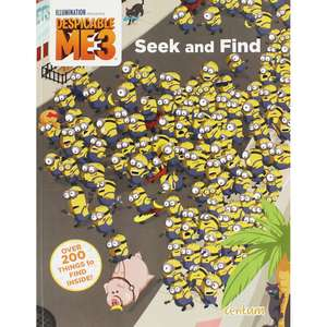 Despicable Me 3 - Seek and Find Book only £1 Free C&C @ The Works1