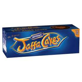 McVitie's - Original Jaffa Cakes 12 pack only 39p @ Heron