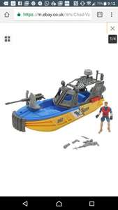 Chad valley underwater rescue set @ argos eBay outlet with free delivery - £2.99
