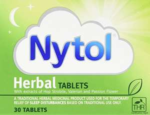 Nytol Herbal Tablets , 30 Tablets £2.49 Add On @ Amazon