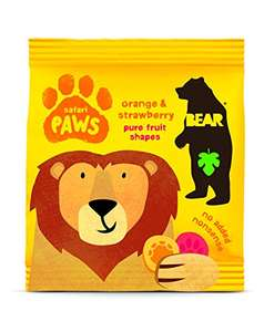 Amazon Bear Fruit Paws Safari Mango & Strawberry 18 x 20g £6.84 delivered S&S (or less see OP)