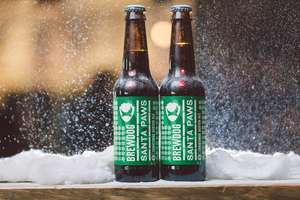 BrewDog Santa Paws bottles, case of 24, free delivery £24