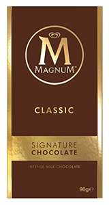 Magnum Classic Chocolate Bar, 90 g, Pack of 18 £11.06 or £9.40 Amazon Subscribe and save