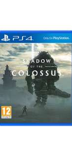 Pre Order Shadow of the Colossus on PlayStation 4, £26.85 @Simplygames