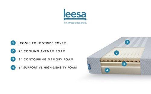 Leesa Premium Foam Mattress, Made in the UK (EU Single) at Amazon for £291.87