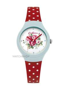 Up to 35% off Cath Kidston watches @ Watchshop + further 10% discount & Free delivery