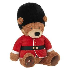 John Lewis Queens Guard Large Teddybear was £25 now £7.50 (£2 C&C)