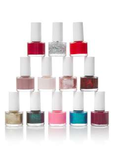 12 x 8ml Marks and Spencer Nail Polish Set at M&S for £3.99