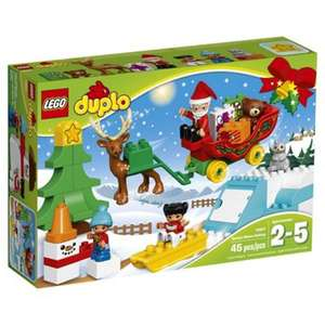 Lego duplo Santa's winter holiday model 10837 was £24.99 NOW £12.49 @ tesco direct,free c&c