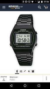Casio B640 Watch - £22.99 delivered at Size?