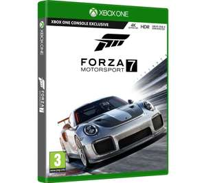 MICROSOFT Forza Motorsport 7 at Currys for £18.99