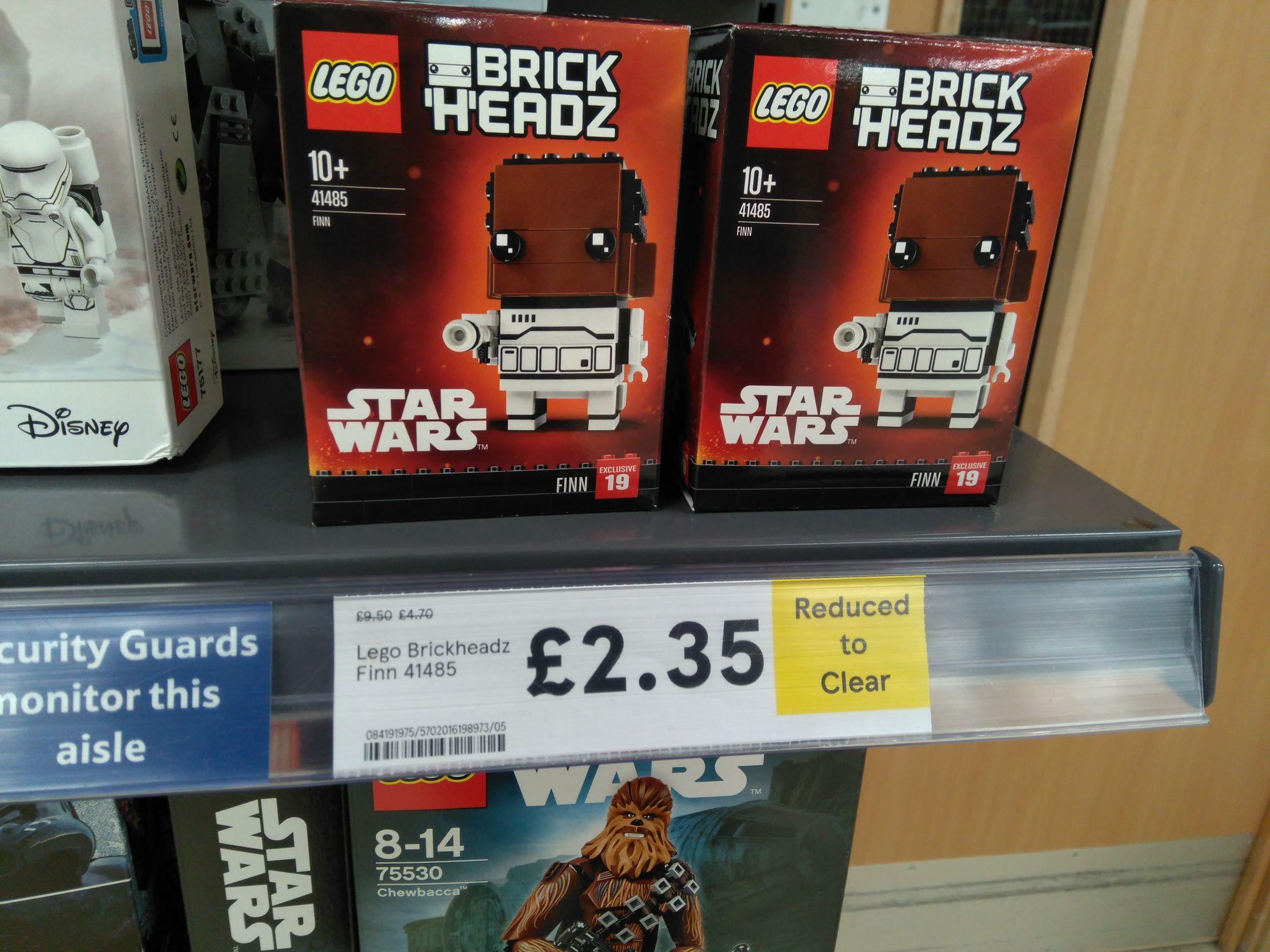 Lego Star Wars brick heads £2.35 in-store Tesco failsworth