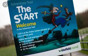 Free Room on the broom adventure trail @ Anglers country park Wakefield Free parking