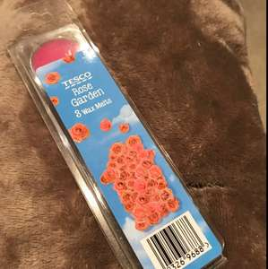 Tesco Rose garden wax melts instore for 55p