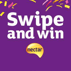 Sainsburys Nectar swipe and Win 2nd - 4th Feb 2018 (spend £10, guaranteed 200+ points)