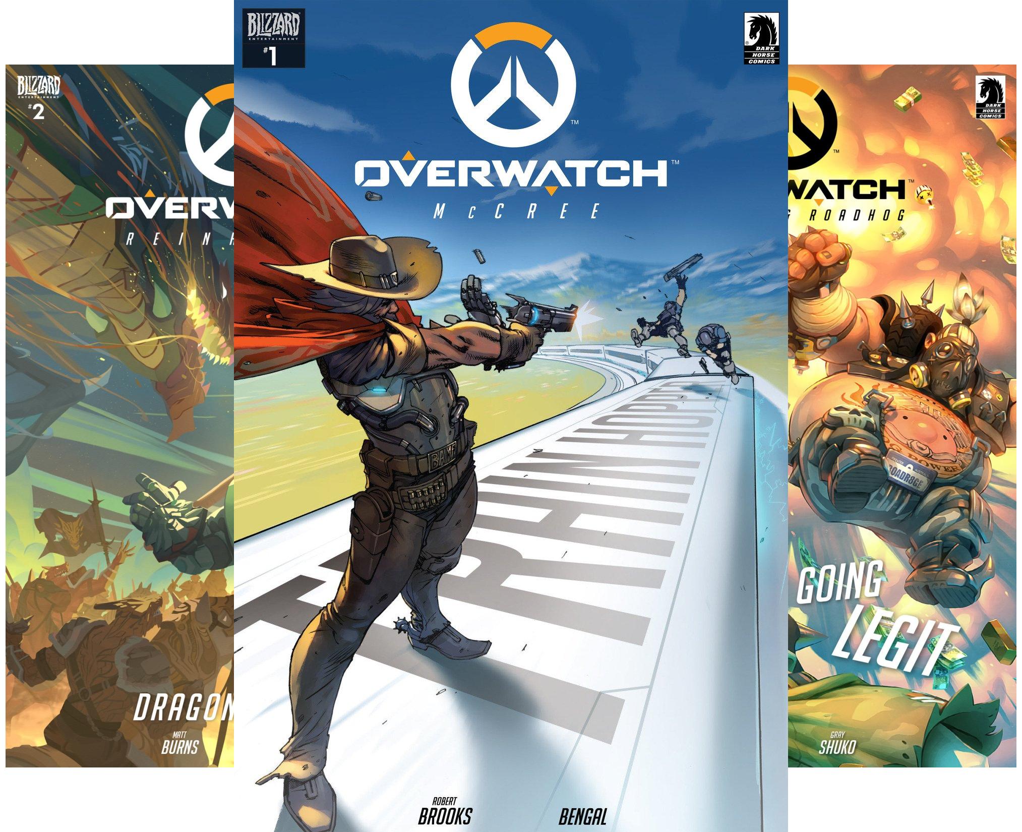 12 Free Overwatch Comics - Amazon (Kindle)