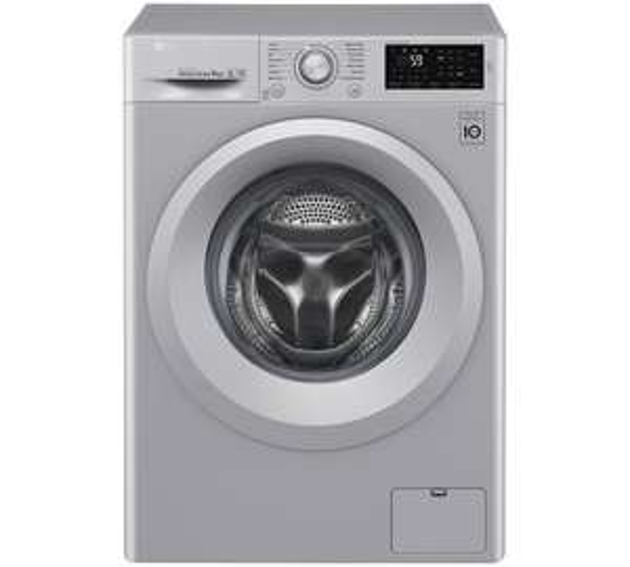 LG F4J5TN4L 8KG 1400 Spin Washing Machine - Silver at Argos for £379.99