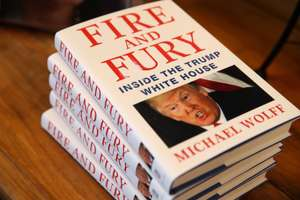 Fire and Fury By Michael Wolff £10 at WH Smith Cribbs Causeway Bristol