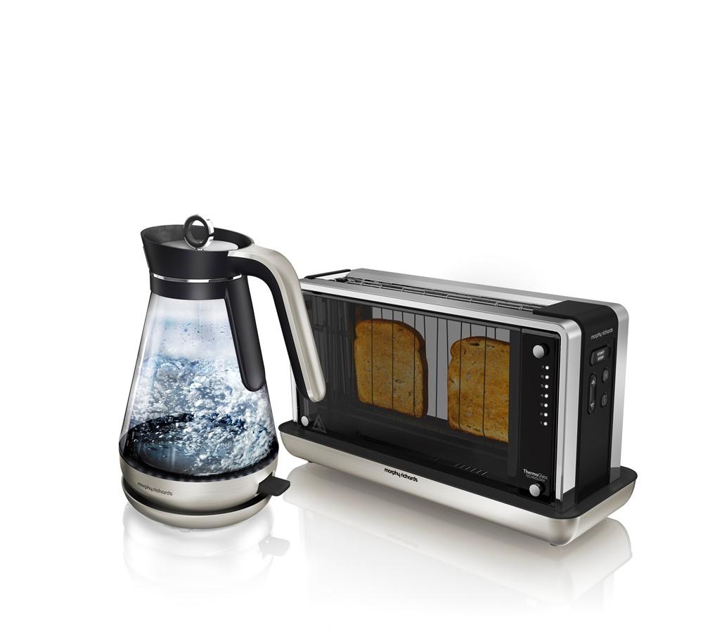 Redefine Glass Kettle & Toaster Set - £119.99 @ Morphy Richards
