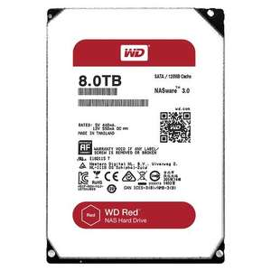 WD 8 TB NAS Hard Drive - Red - £227.68 @ Amazon