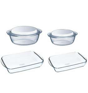 Pyrex 4 piece set was £40, then £20 now £15 tesco direct (freec&c)