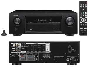 Denon 5.2 AVRX540BT AV Receiver 4K UHD HDR Bluetooth £229 @ Richer Sounds