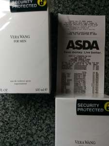 100ml Vera Wang for men - £10 - Instore @ ASDA (St Leonards)