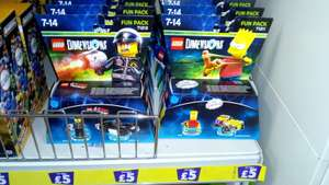Lego Dimensions Fun Packs - £5 each instore at Poundland
