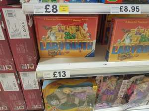 Labyrinth board game by Ravensburger £5.20 instore @ Tesco (Warrington)