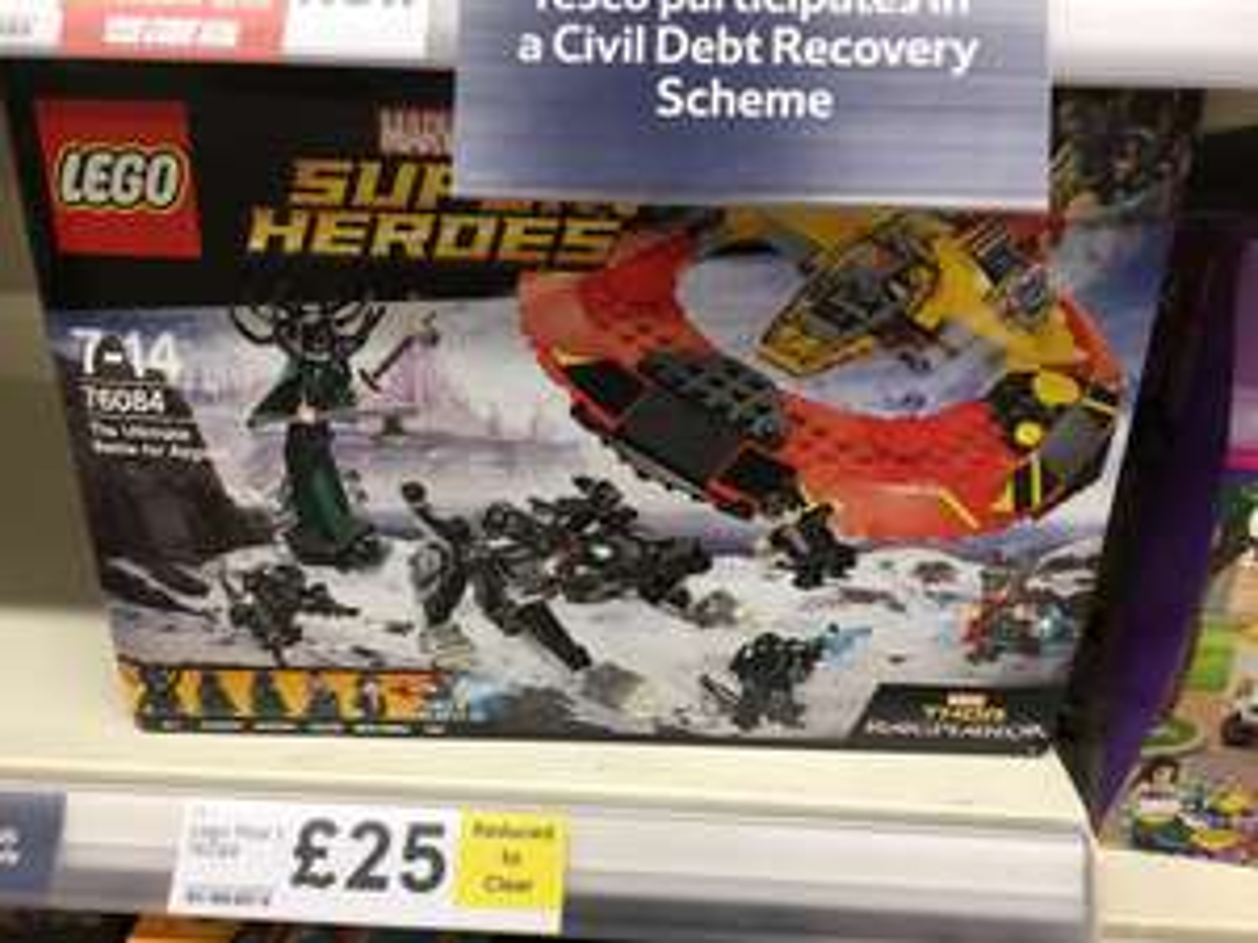 Lego 76084 Ultimate Battle For Asgard @ Tesco Oldham Huddersfield Road - £25
