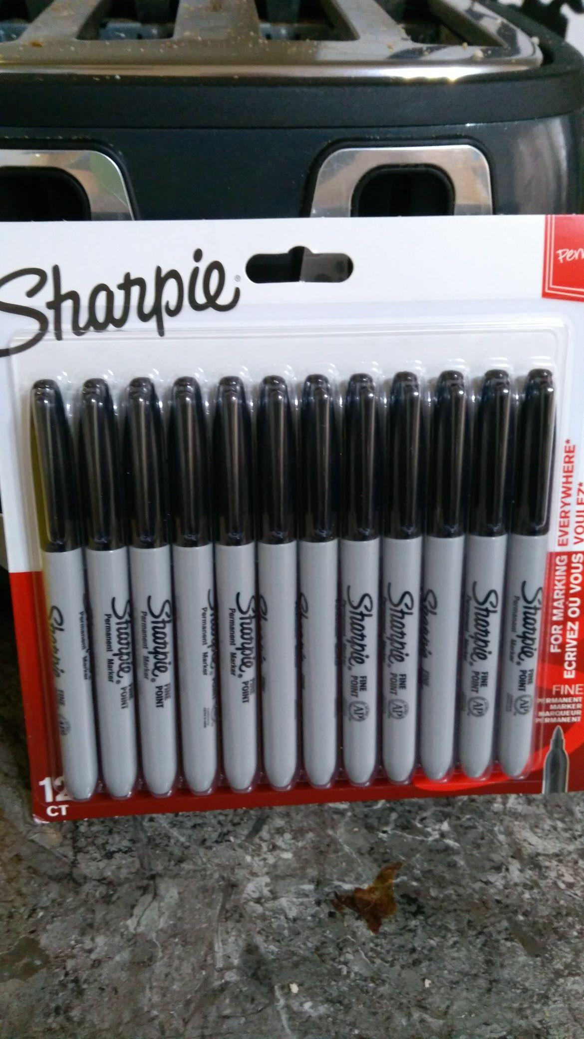 Asda 12 black Sharpies £5 instore (East London)