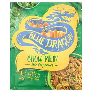 Blue Dragon Chow Mein Stir Fry Sauce 120G 29p in store Home Bargains (70p in Tesco)