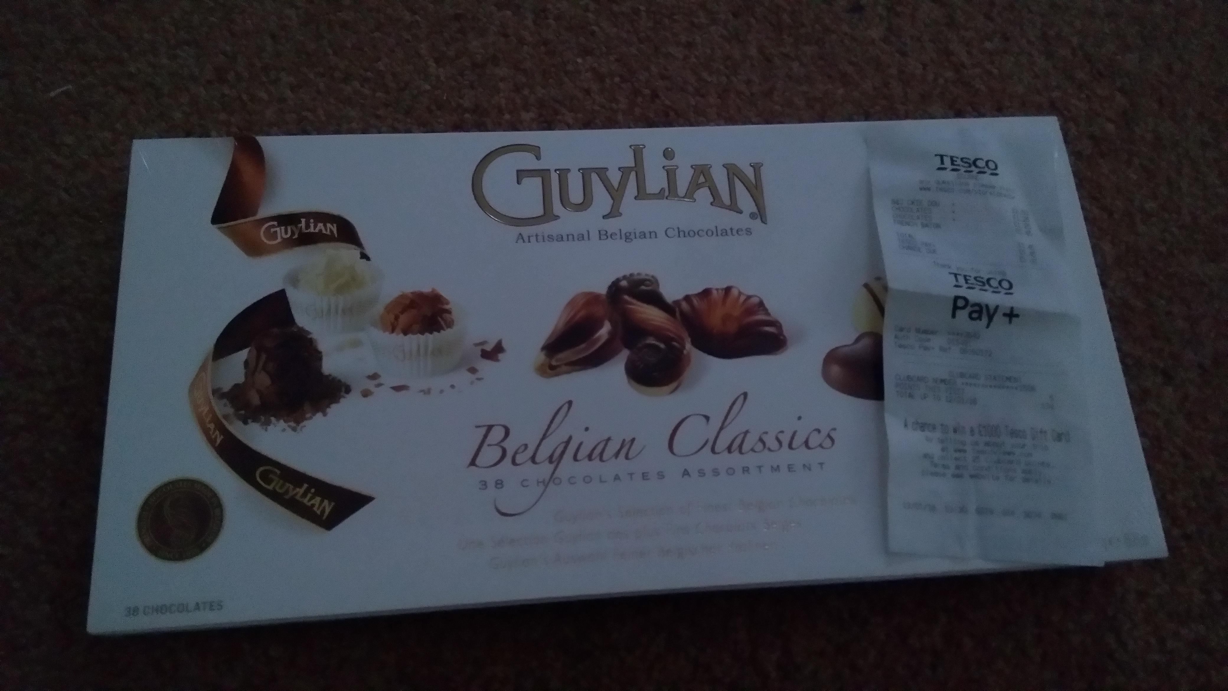 Guylian Belgian Classics Chocolates £1.25 Tesco Bourne
