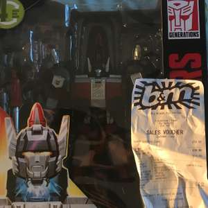 Transformers Titans return leader class Sky Shadow - £14.99 instore @ B&M
