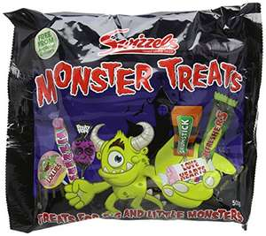 Swizzels Monster Treats Bag 480 g (Pack of 8) - £10.71 (Prime) £15.46 (Non Prime) @ Amazon
