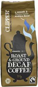 Clipper Decaffeinated Ground Coffee 227 g (Pack of 8) - £9.47 (Prime) £14.22 (Non Prime) @ Amazon