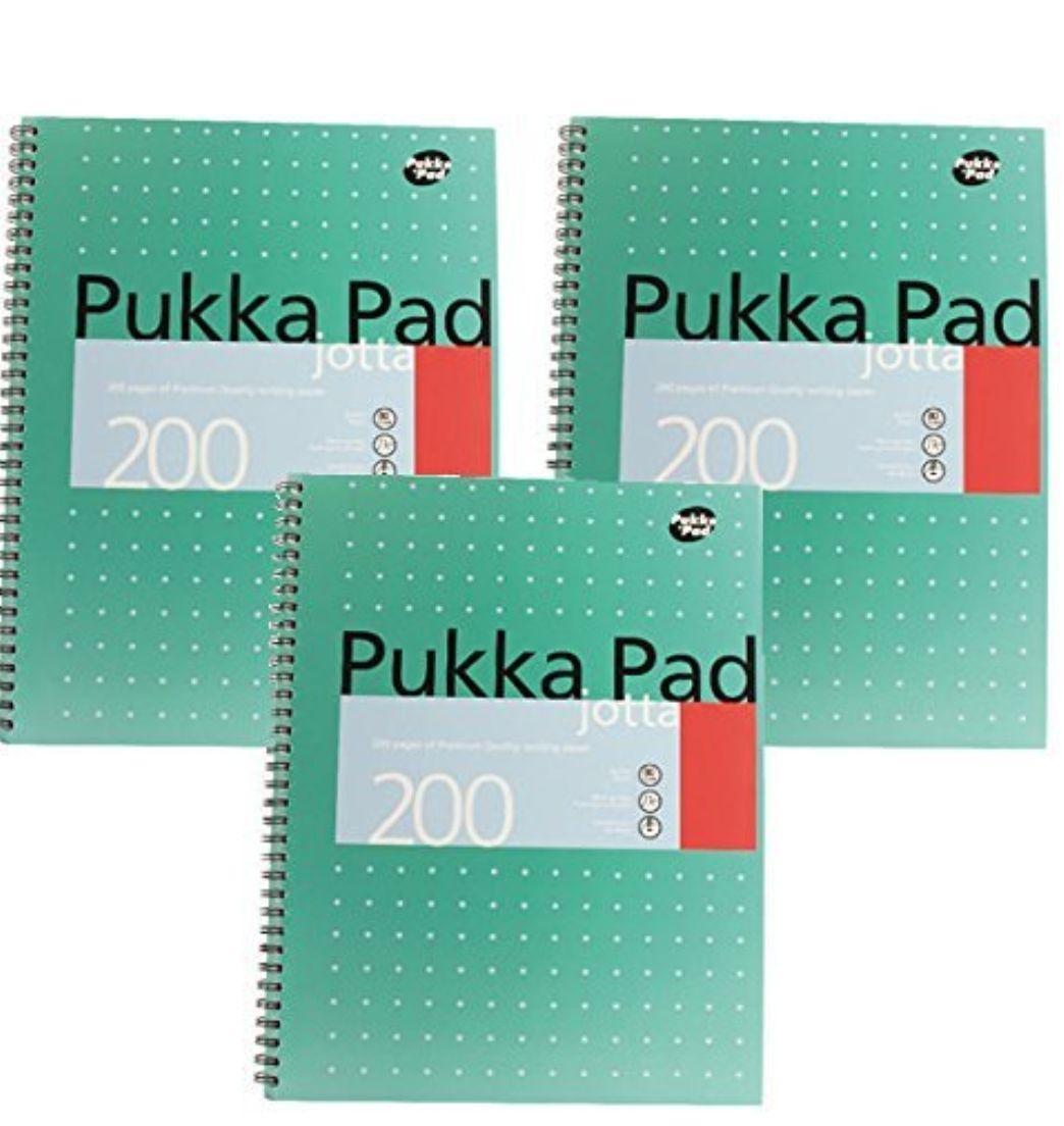 3 x a4 Pukka Pads - £7.16 (prime) £11.91 (non prime) @ Amazon