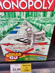 Monopoly Grab & Go £2.50 Instore @ Tesco (Also Add On Item @ Amazon)