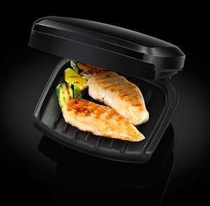 B&M Retail George Foreman 2-Portion Compact Grill 23400 £12.99
