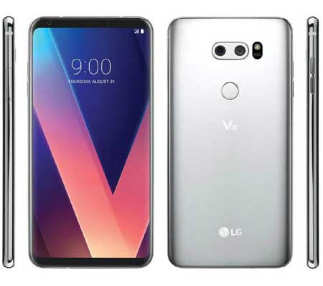 LG V30+ H930DS Dual Sim 128GB SIM FREE/ UNLOCKED - Cloud Silver £545.99 @ Eglobal