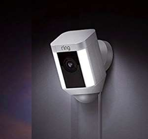 Ring Security Camera with LED Spotlight £168.19 @ Amazon