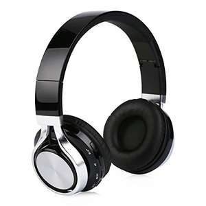 Excelvan Foldable Wireless Stereo Bluetooth Over-Ear Headphones with Microphone BOGOF @ Amazon