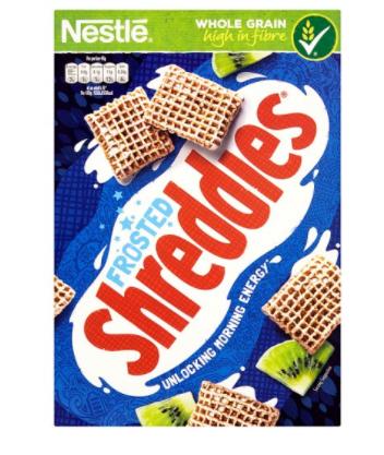 Nestle Shreddies Frosted Cereal 500G £1.30 @ Tesco