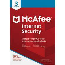 McAfee internet security 1 year 1 device £4.99 @ Argos