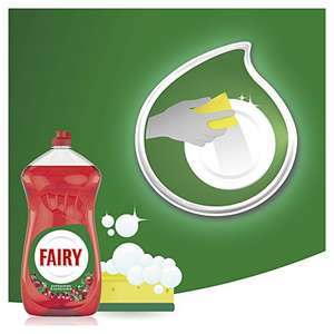 Fairy Clean & Fresh Washing Up Liquid Pomegranate and Honeysuckle, 1410 ml £2 Prime Exclusive @ Amazon