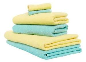 Pastel Bathtime Towel Bale Set for £7.50 @ Mothercare (Free C&C)