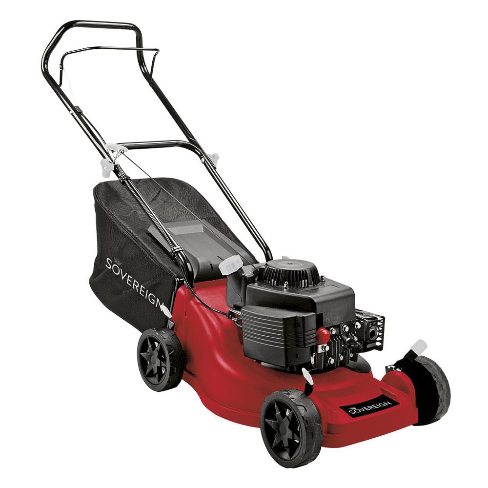 Sovereign 40cm Push Petrol Lawn Mower - Bunnings Milton Keynes