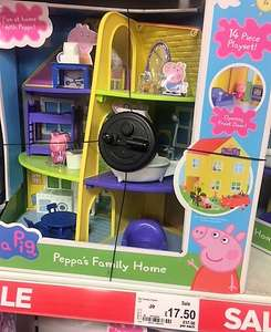 Peppa Pig Peppa's Family Home Playset £17.50 in Asda Clapham Juction