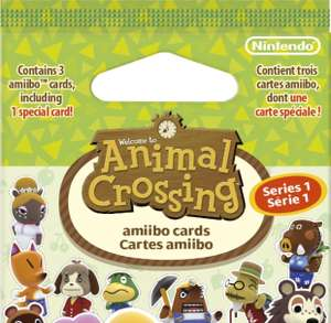 Animal Crossing Amiibo Cards Series 1 booster £2.29 (Prime) Amazon