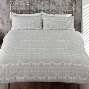 BEDLAM (by J Rosenthal & Son) SKANDI double bedding set reduced £11 C+C at B&Q it.